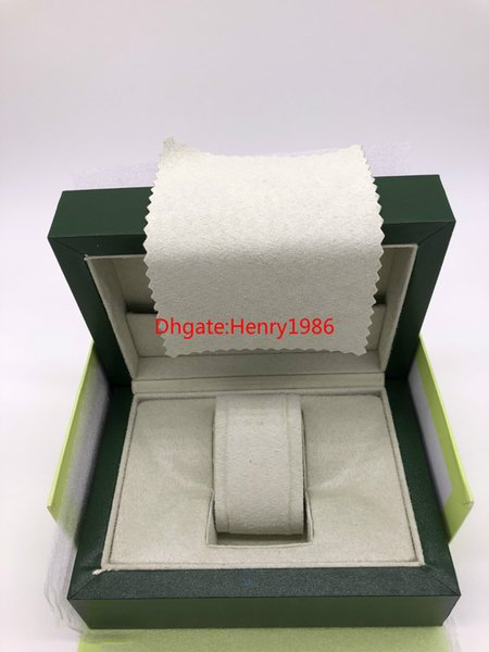 High Quality Swiss Original Box Paper Womens Luxury Top Brand Mens Wristwatch For Ro lex Watch Boxes Inner Outer Booklet Card Man Lady