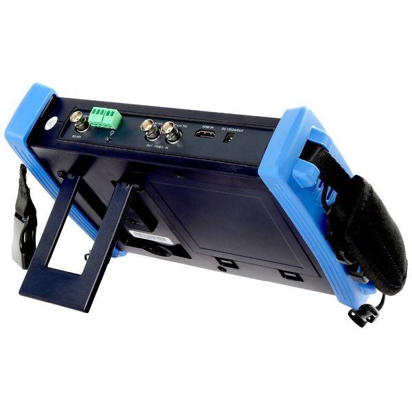Hotselling 7 Inch 6 In 1 CCTV Tester Monitor H.265 4K/H.264 IP+TVI 8MP+CVI 8MP AHD 5MP+SDI 2MP+Analog CCTV Camera Tester Monitor