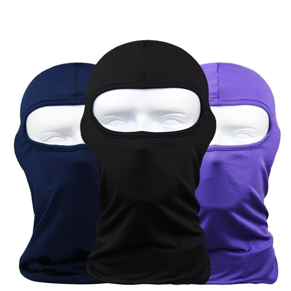 Face Mask AAAA+Quality Bandanas 20colors Ghosts Mask Outdoor Hat Cycling Bike Motorcycle Windproof Mask Elastic DHL Fast shipping BF