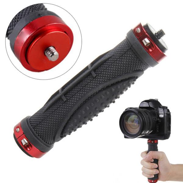 Mayitr 1pc Red Griff Griff Stabilisator Handle Handle Stand Halter Stativ Stabilisator mit 1/4 Schraube für Digitalkamera