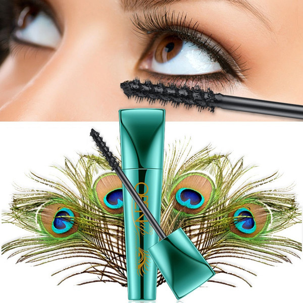 Follome 4D Peacock Mascara New High Quality Waterproof Black Mascara Volume Curling Eyelash Extension Makeup Cosmetic