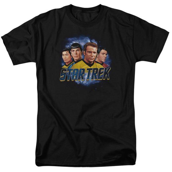 Star Trek Original Series Kirk Spock THE BOYS Licensed Adult T-Shirt All Sizes