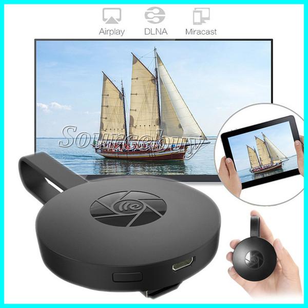 Lettore multimediale con lettore multimediale HDMI adattatore per dongle Mirascreen G2-4 Mini PC Android TV stick Supporto 1080P HD AirPlay DLNA Miracast