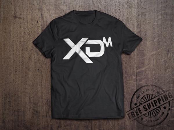 Springfield Armory XDM Black Logo Long Sleeve Shirt 2nd Amendment Pro Gun Tee