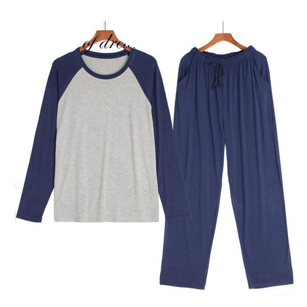 Modal Material Homme Pyjamas Ensembles Hommes Pyjamas Vêtements de Nuit Hommes Pyjama Ensemble Pijama De Hombre Haute Qualité pour Hommes