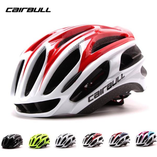 CAIRBULL Bike Helmet Ultralight Bicycle Helmets Cycling Helmets Men MTB Road Mountain Black Glossy Can Be Adjust size 57-63 CM
