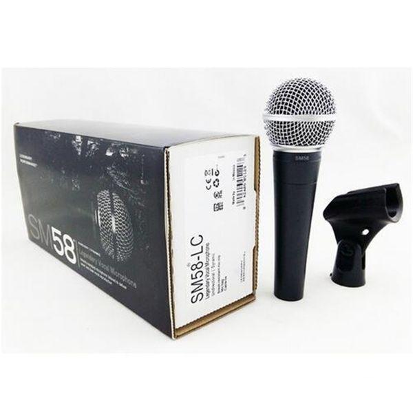 SM 58 58LC Wired Gesang Karaoke Mikrofon Professionelle Dynamische Mikrofon Für SM58LC Studio Singen DJ Mixer Audio Mikrofon