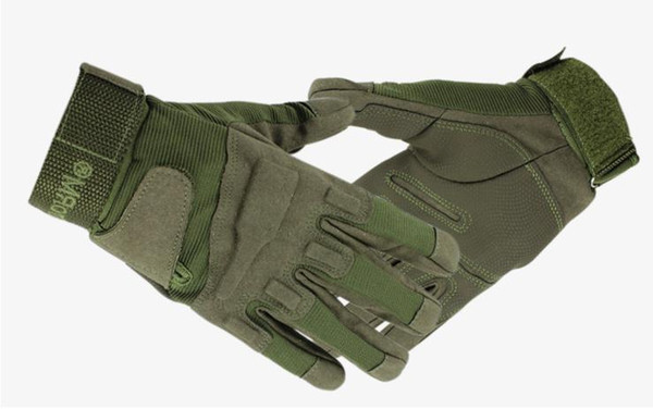 3 Colors New Outdoor Tactical Gloves Riding Sports Fitness Motorcycle Gloves Mountaineering Anti-Skid Touch Screen Full Finger