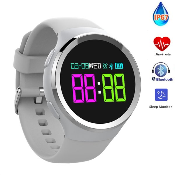 smart bracelet N69 VS CF006 DM58 DM78 E07 H8 X2 wristband with heart rate monitor information reminder pedometer 30M waterproof