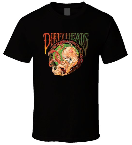 Dirty Heads 2 New T Shirt Streetwear Funny Print Clothing Hip - Tope Mans T Shirt Tops Tees Male Best Selling T Shirt