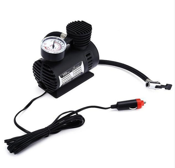 best selling New12V 300PSI Car Bike Tire Tyre Inflator Pump Toys Sports Electric Pump Portable Mini Compact Compressor Pump Tyre Air Inflator