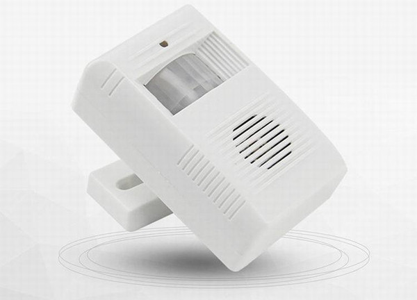 top popular Wireless Greeting Warning Door Bell Welcome Chime Motion Sensor Detector Alarm in stock fast shipment 2021