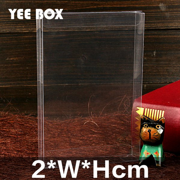 50pcs/lot 2*W*Hcm Spot PVC clear plastic box/ gifts & crafts /Package box for wedding gifts, fruits, daily necessity, etc.