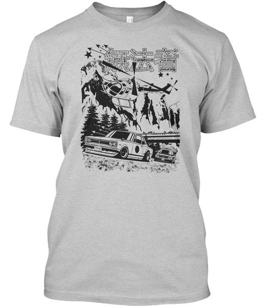 Skyline Gt-r Hakosuka Outlaw beliebte Tagless Tee T-Shirt