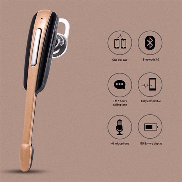 Auriculares manos libres inalámbricas del auricular HM1000 Bluetooth para Iphone 7 para Samsung Galaxy S7 S6 para auriculares del teléfono móvil xiaomi