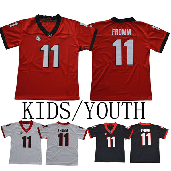 new concept a0ee9 7fbab 2019 Kids/Youth Georgia Bulldogs College Jerseys 3 Todd Gurley II 7 D'Andre  Swift 10 Jacob Eason 11 Jake Fromm 27 Nick Chubb 34 Herschel Walker From ...
