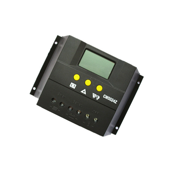 CM 12V24V50A solar charger controller Voltage and current display solar Power generation controller