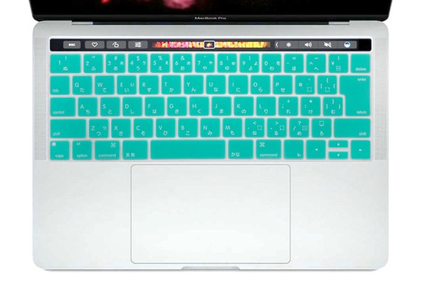 "For New MacBook Pro 13"" A1706 and Pro 15"" A1707 With Touch Bar Release 2016 Japanese Silicone Keyboard Cover Case Skin"