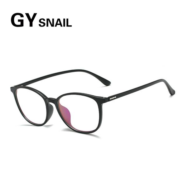 GYsnail Computer Glasses Anti Blue Light Blocking Filter Reduces Digital Eye Strain Clear Regular Gaming Goggles Eyewear TR90