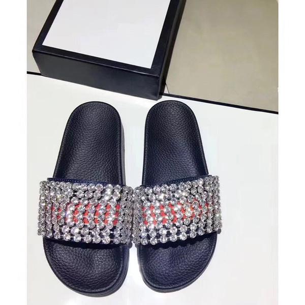 wyg451689 / 8 Fotos Encontrar Similares 44 Hombres Mujeres Sandalias Zapatos de diseño Diapositiva de lujo Moda de verano ancho plano Resbaladizo con sandalias