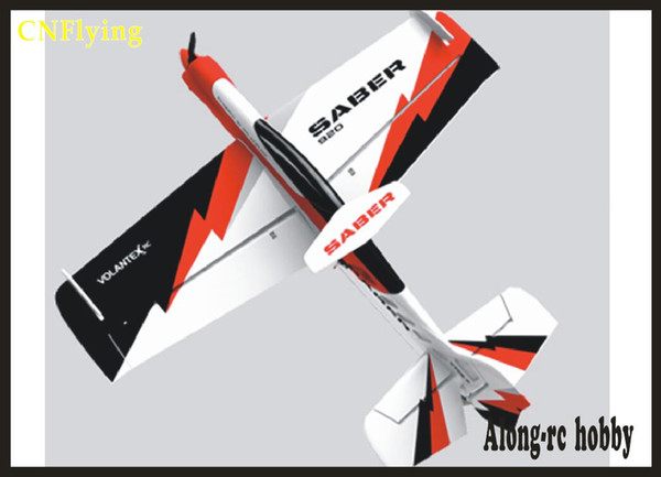 EPO PLANE/ RC 3D airplane/RC MODEL HOBBY TOYS wingspan 920MM SABER 920 V756-2 3D plane best 3D airplane(have PNP set or KIT set)