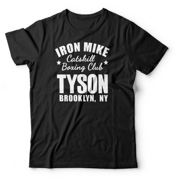 Iron Mike Tyson T Shirt Boxing Gym Mens Bodybuilding Workout Fitness Funny free shipping Unisex Casual tee gift