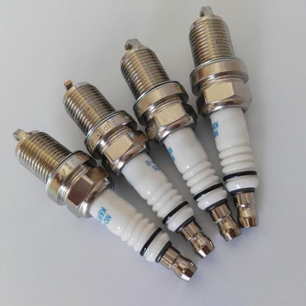 Iridium platinum Spark plugs Velas del coche para renualt SCENIC LANGUAN motor mengane 2.0l f4r Ignition