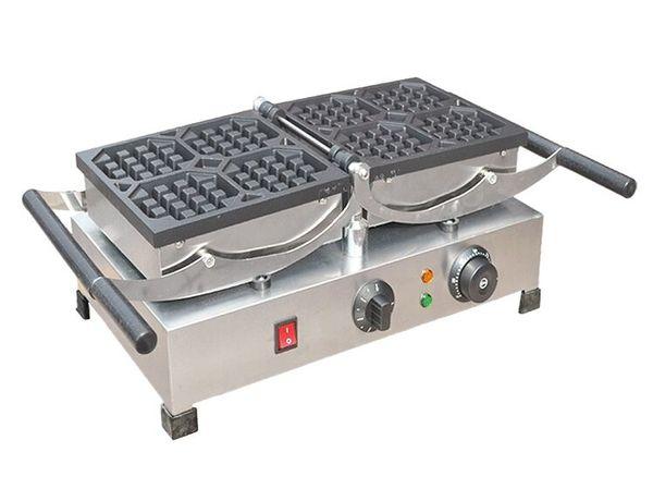 Commercial Use Nonstick 110v 220v Electric 6pcs Mini Fish Waffle Taiyaki Baker Machine Maker Plate