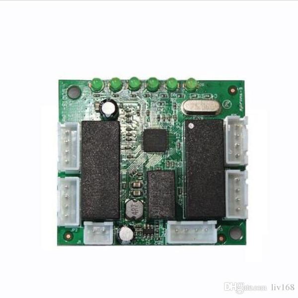 OEM Switch module mini design ethernet switch circuit board for ethernet switch module 10/100mbps 5 port PCBA board PCBA motherboard
