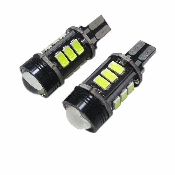T15 white 6000k brake light lamp with projector lens function Brake Lamps Car Parking Light Daytime Running Light DRL