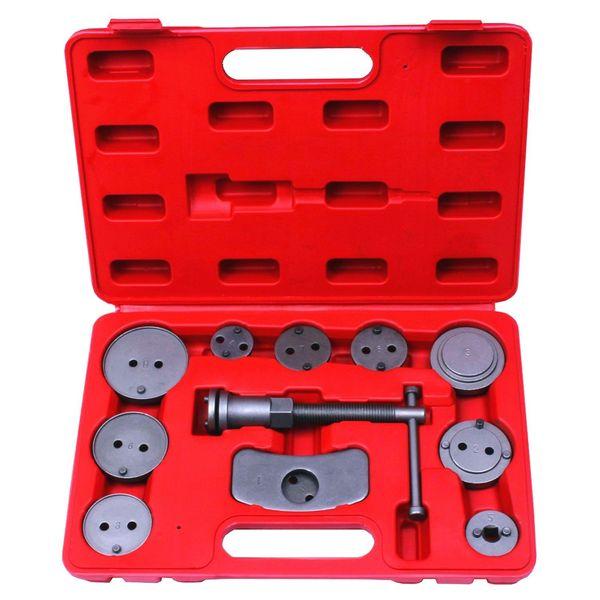 top popular LONGFENG LFCP8 12pcs Disc Brake Caliper Piston Pad Car Wind Back Tool Kit with Case 2020