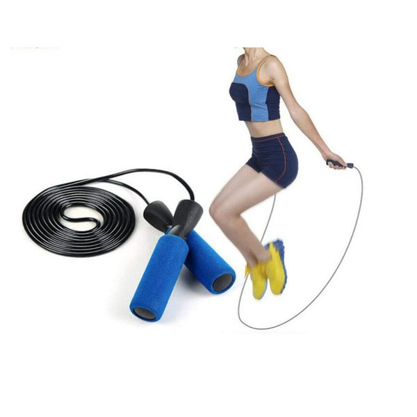 Advanced Fitness Training Jumping Rope PVC Adjustable Bearing Jumping Rope for Adult Children Skipping Calories