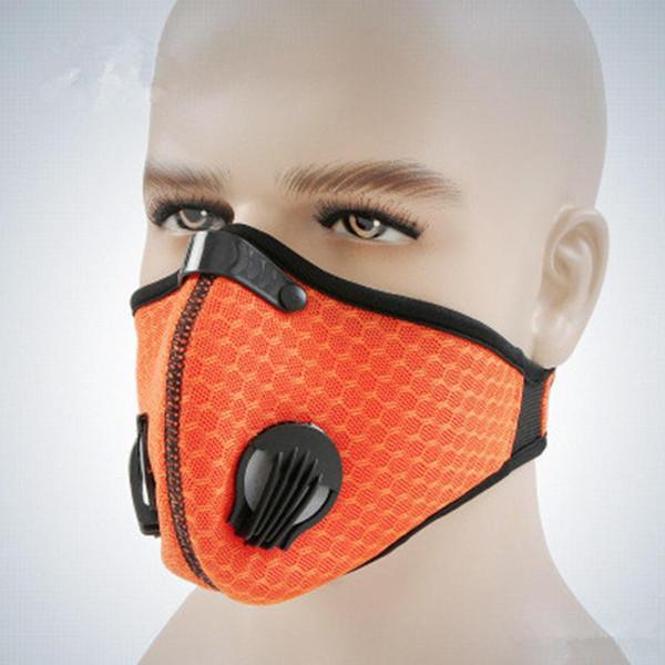 Resistente al polvo Resistente al viento Transpirable Pasta mágica Bicicleta Protectora 35g Máscara geométrica sólida para montar