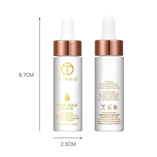 O.TWO.O Toners Marca Beleza Fácil de Usar Rosto Limpador Primer Óleo Hidratante Nutritiva Longa Duração Base Primer Maquiagem