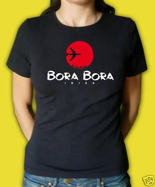 T-Shirt Bora Bora Ibiza, Mann - Frau - Kind kühles beiläufiges Stolz-T-Shirt Mann-neues Mode-T-Shirt unisex freies Verschiffen übersteigt Ajax