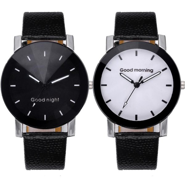 Unisex watches new fashion Luxury Quartz Sport man  Stainless Steel Dial Leather Band woman Wrist Watch casual clock A80