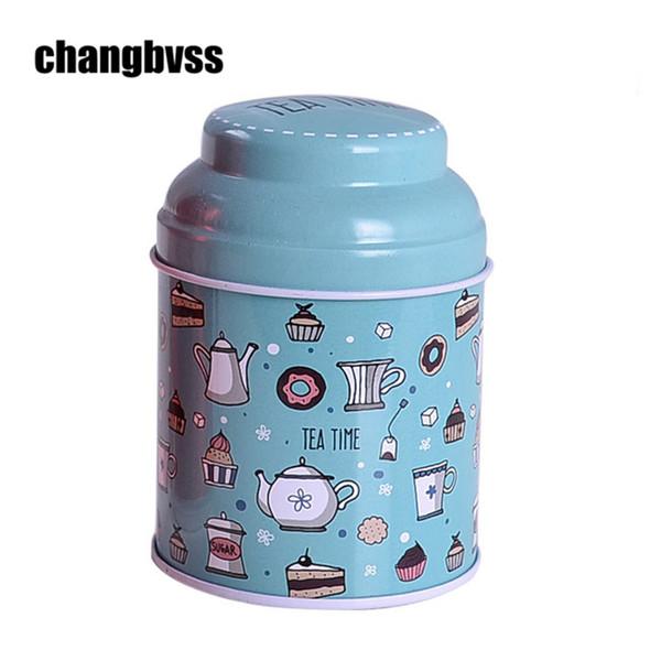 3pcs/lot European Style Metal Tin Box Tea Caddy Wedding Candy Storage Box Coffee Sugar Spice Jar Jewelry Jar Coin Box Organizer