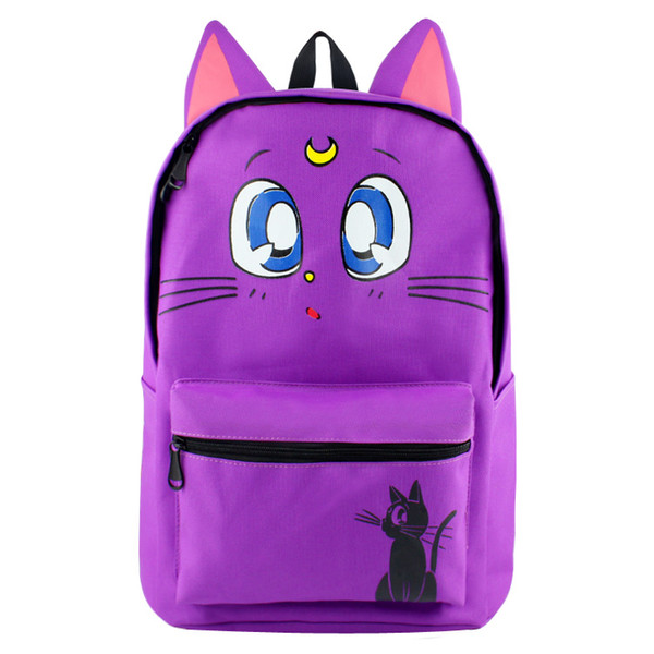 Colorful Anime Sailor Moon School Bags Yuri on Ice Cool Backpack Harry Potter Travel Bag for Gift