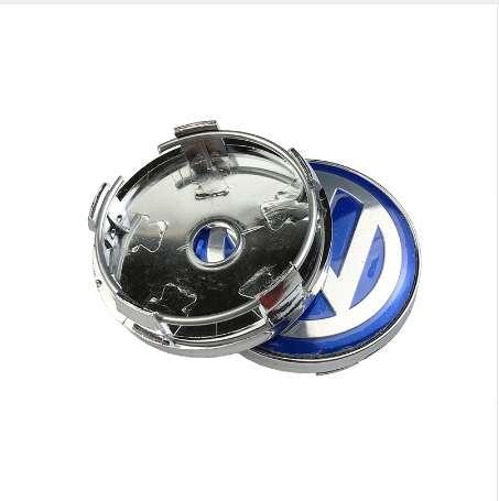 4PCS/lot 60mm Logo Auto Car Wheel Center Cap Hub Caps Car Rims Cover Badge Emblem For Volkswagen VW sticker