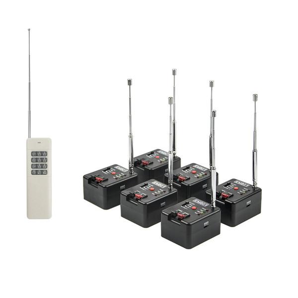 6 Cue Remote 1000M Wireless Fireworks Firing system&Wedding equipment&stage equipment