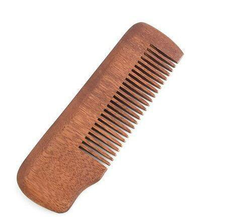 Wholesale Useful Fine Tooth Wood Beard Comb Pocket Size Anti-static Massage Hair Care Unisex Gift New