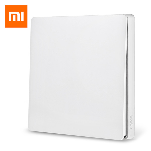 Original Xiaomi Aqara Single Key Smart Light Switch Wireless Version Hot Selling Single Key