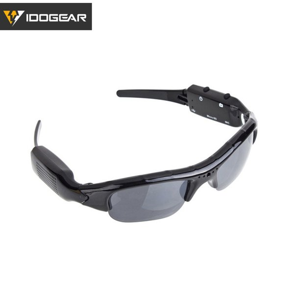 IDOGEAR Digital Camera Sunglasses Bicycle Eyewear Camera 2 in 1 Action Digital Video Recorder Outdoor Sports Hiking Cycling