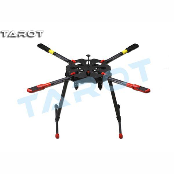 Tarot-RC TL4X001 X4 Umbrella Carbon Fiber Foldable Quadcopter Frame Kit w/ Electronic Landing Skid for RC Drone FPV