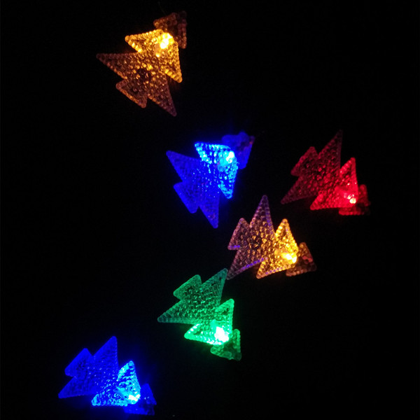 YIYANG Xmas Tree Solar Power String Lights LED Waterproof Fairy Fence Home Garden Patio String Light Lawn Christmas Lamps
