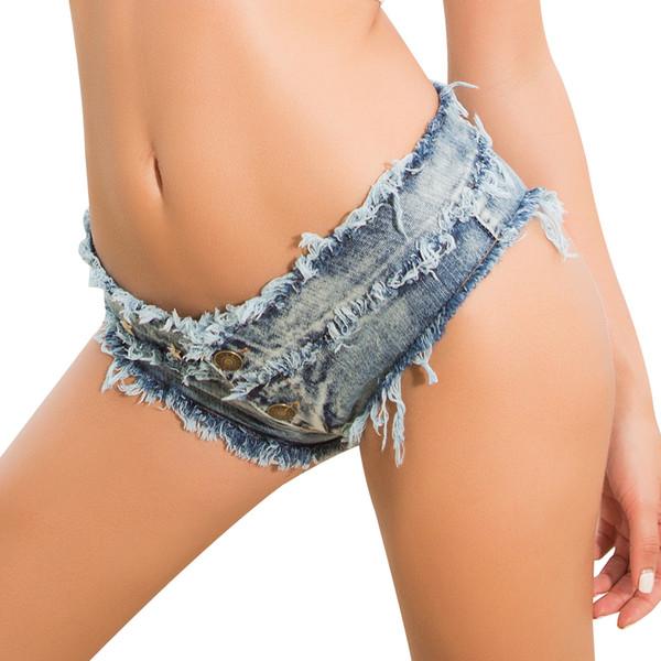 Womens Shorts Booty Fashion Sexy Five-pointd Stars Rivet Holiday Sexy White Mini Super Denim Shorts Beach Clubwears