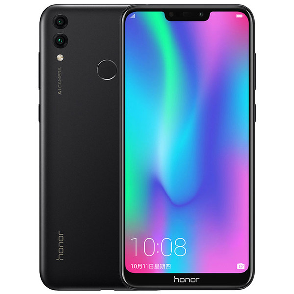 "Original Huawei Honor 8C 4GB RAM 32GB/64GB ROM 4G LTE Mobile Phone Snapdragon632 Octa Core 6.26"" 13.0MP Fingerprint Face ID Cell Phone New"