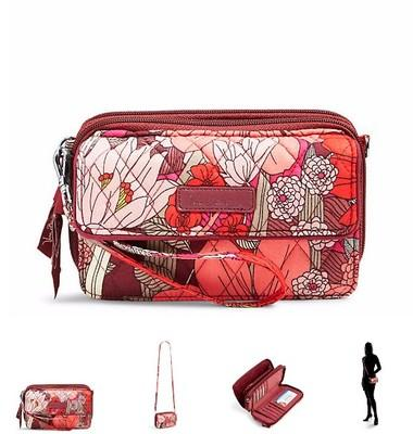 All in One Crossbody and Wristlet shoulder bag