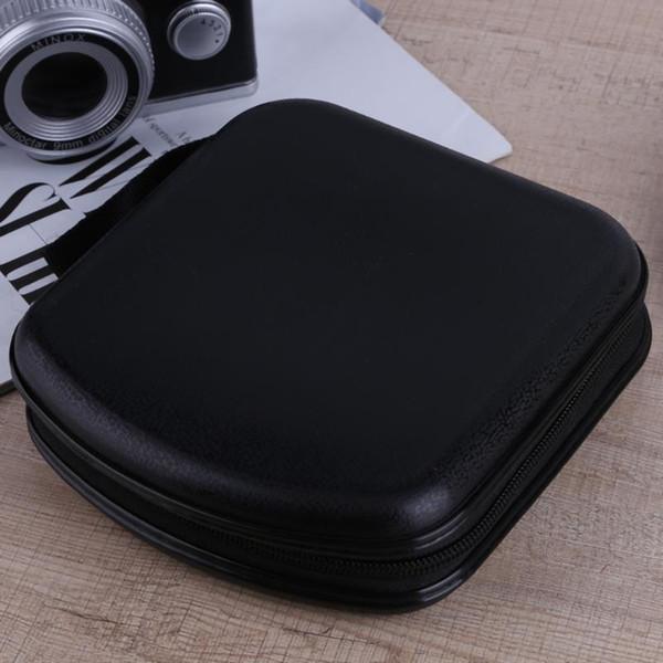 ALLOYSEED Plastik 38 adet Kapasiteli Disk CD DVD VCD Cüzdan Depolama Organizer Kutu Tutucu CD DVD Disk Depolama Tutucu Taşıma çantası Çanta
