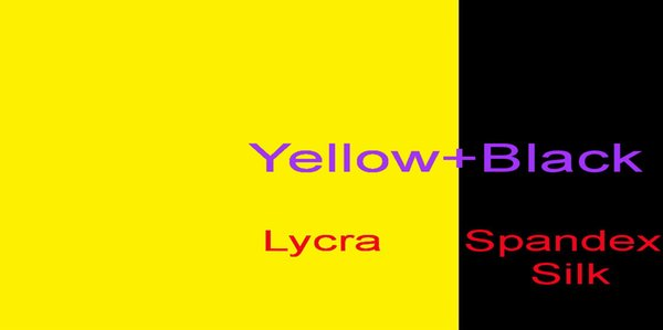 Желтый + Черный